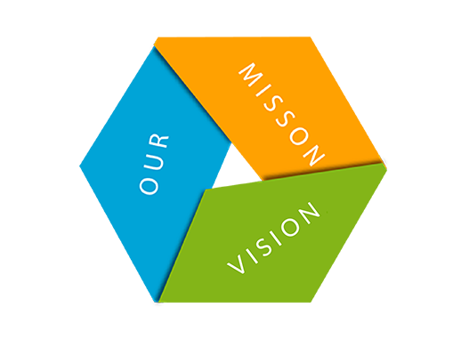 Our Mission Vision Graphic